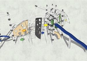游樂設施SU(草圖大師)模型