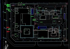 某商业中心给排水系统设计cad方案