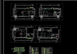 某现代办公楼电路设计cad方案