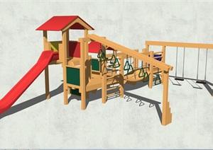 游樂設施素材SU(草圖大師)模型