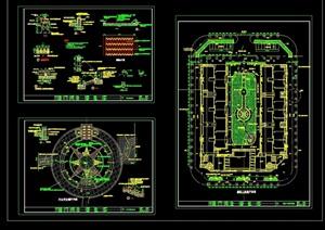 某详细广场环境设计cad施工图