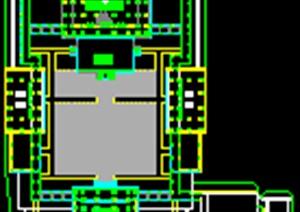 寺庙CAD平面规划
