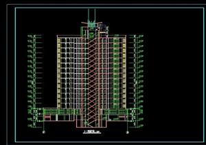 高层住宅建筑全套cad施工图纸