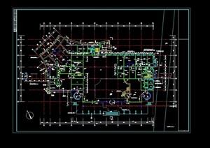 某小区业主会所设计cad施工图