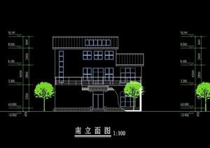 扬州市中式住宅建筑设计cad方案