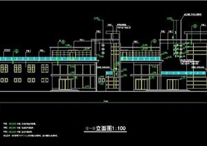 小区会所建筑施工图