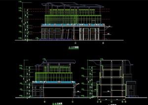 会所建筑详细设计cad施工图