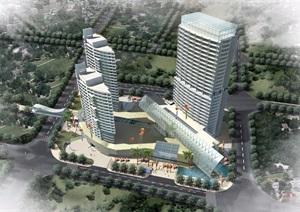 某详细完整的商业建筑设计pdf方案