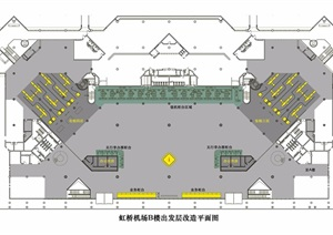 虹桥机场b楼建筑jpg方案