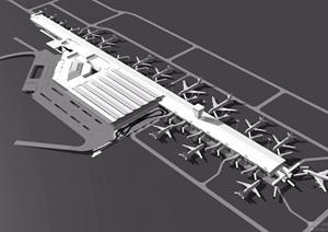 波兰华沙奥克茨机场建筑jpg方案