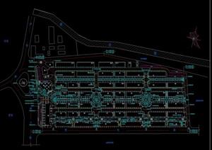 上海新干线商城住宅景观设计cad施工图