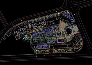 某市花园洋房住宅景观工程cad全套施工图