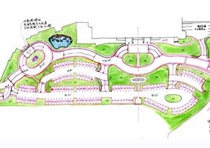 雍景园住宅景观设计cad施工图