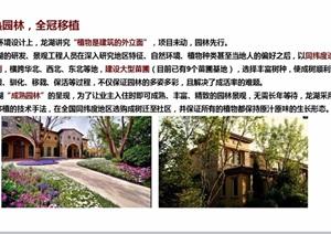 龙湖住宅详细的景观ppt方案