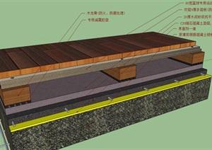 建筑地板饰面构造节点cad大样