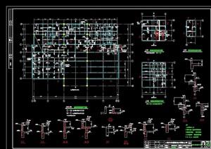 会所结构详细设计cad方案