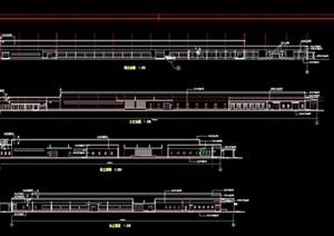 雅马哈厂房详细建筑设计cad施工图