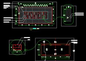 新中式廊架施工图详图流行做法