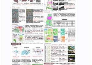 城市规划详细毕业设计jpg展板
