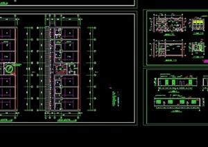 标准间全套设计cad方案图