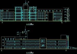 现代商业楼建筑设计方案图