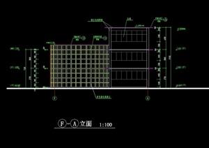 一套会所建筑设计cad施工图