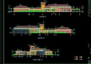 上海欧式风格会所设计cad施工图