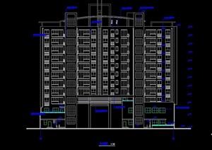 商住楼高层设计cad方案