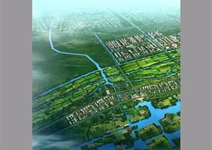 某县锦秋片区城市设计pdf方案