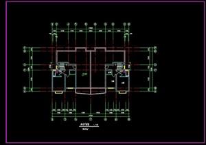 住宅楼详细设计cad平面图