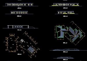 会馆建筑设计cad方案图