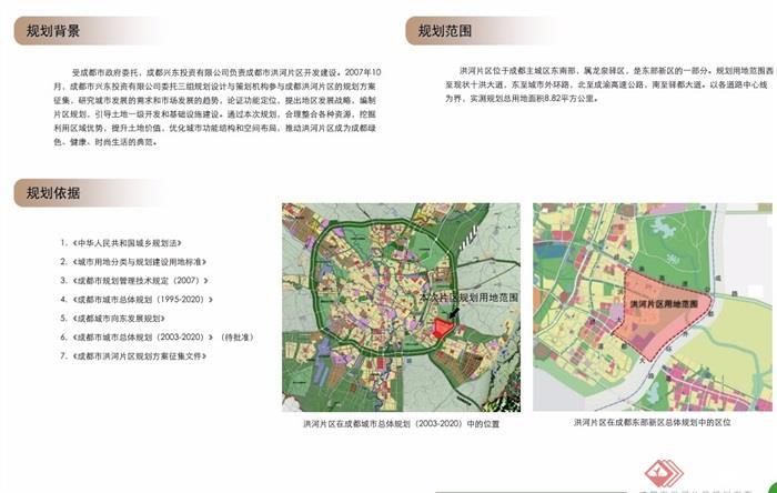 成都洪河片區整體規劃pdf方案