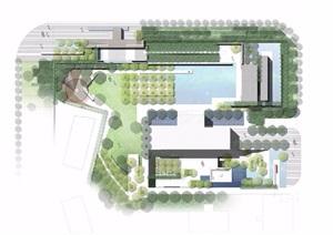 某紫境府住宅景观设计概念pdf方案文本