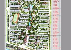 某现代风格详细的住宅景观设计pdf方案