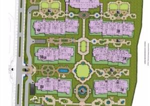 欧式风格会所建筑及景观方案文本