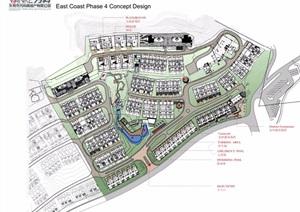 某现代台地住宅景观设计pdf案例