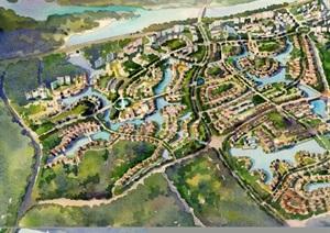 某详细深业云东海总体住宅景观设计pdf方案