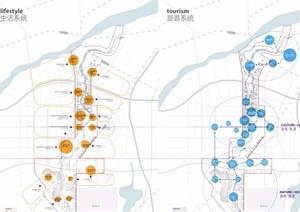 某现代河新区河岸生态景观规划pdf方案