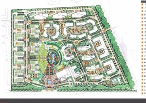 某中心住宅详细景观jpg方案设计
