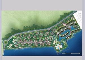某山庄住宅景观设计ppt方案
