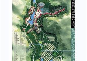 某详细生态旅游区入口前区规划景观设计jpg方案