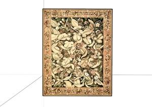 家居装饰地毯素材SU(草图大师)模型