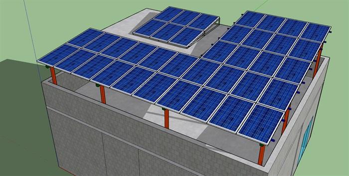 10KW光伏項目發電站(1)
