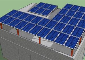 10KW光伏项目发电站