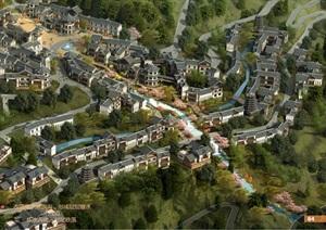 某大峡谷旅游风情小镇概念规划及城市设计PDF文档