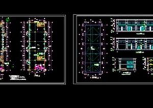 商业详细建筑设计施工图