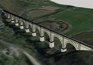 某详细的交通素材设计SU(草图大师)模型