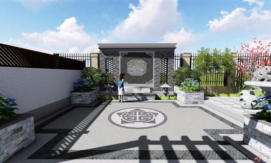 新中式庭院