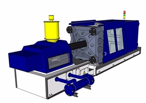 某机械电器设备设计SU(草图大师)模型
