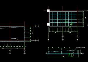 玻璃顶棚设计cad方案
